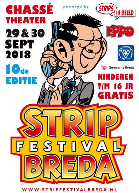 Stripfestival Breda 2018