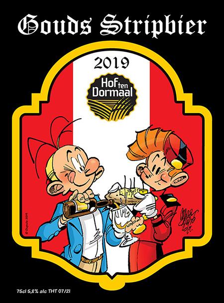 Strips op de Markt Gouda 2019