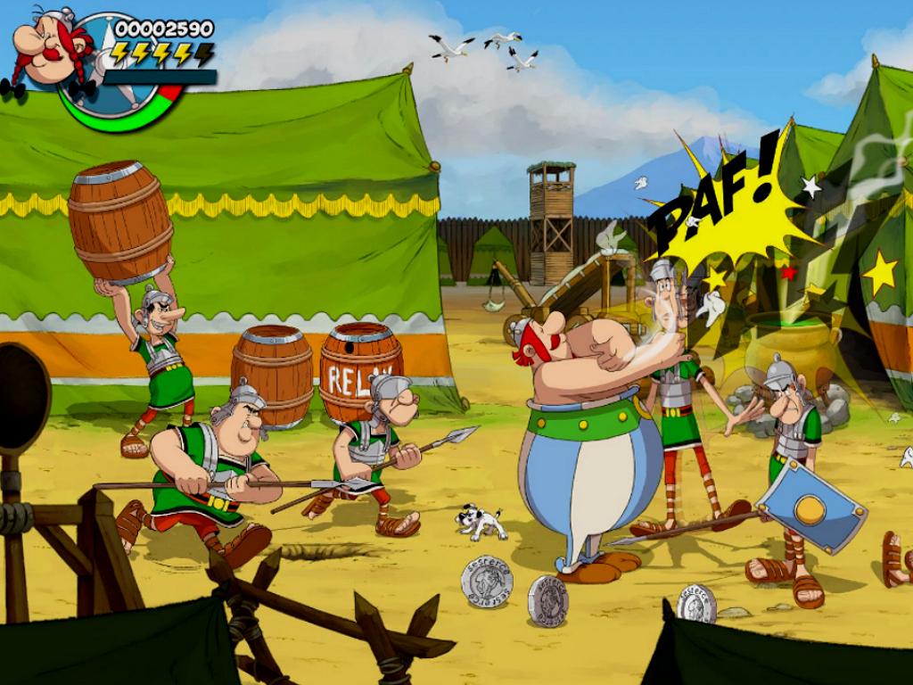 nieuwe asterix en obelix game
