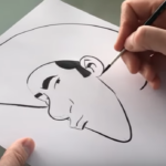 Matthieu Bonhomme tekent Lucky Luke
